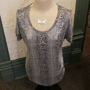 brand new with tags MICHAEL KORS sequin top